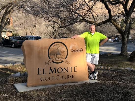 El Monte Golf Course: entrance