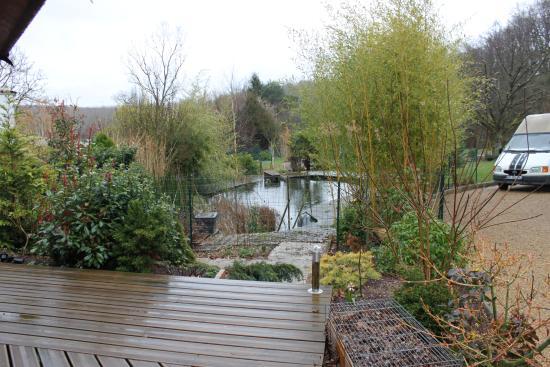 Monthou-sur-Cher, Γαλλία: Le jardin