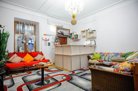 Oasis Hostel : Ресепшен