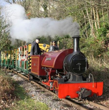 "‪‪Amberley‬, UK: ""Peter"", one of our steam locos‬"