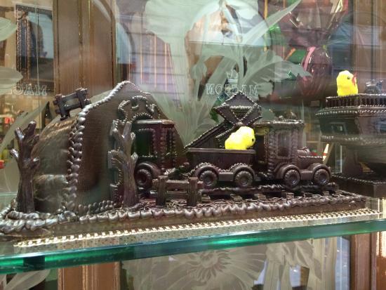 Fargas: Chocolate art