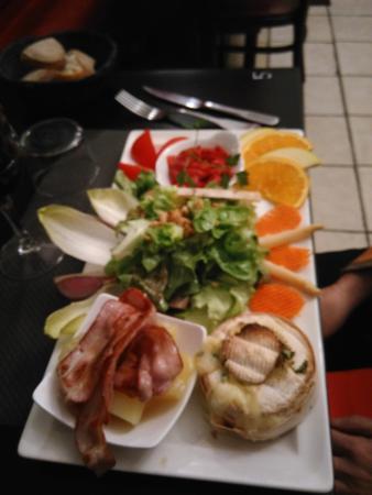 Le P'tit Bouchon : assiette diverse