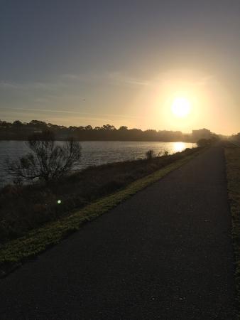 Timpoochee Trail: Morning bike ride