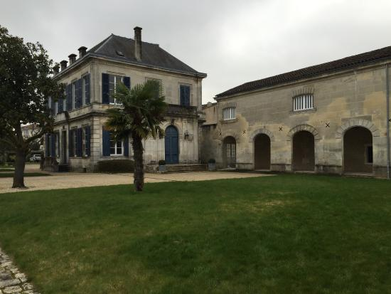 Cognac Meukow: Les jardins