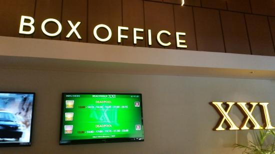 Cinema xxi box office counter picture of beachwalk xxi cineplex beachwalk xxi cineplex bali cinema xxi box office counter stopboris Image collections