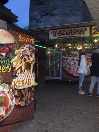 U Szwagra - Karmelicka: The entrance to what is more than just a takeout
