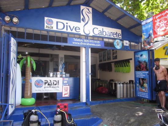 คาบาเรต, สาธารณรัฐโดมินิกัน: Dive Shop