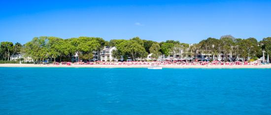 Sandy Lane Hotel: Sandy Lane Beach - View from Sea