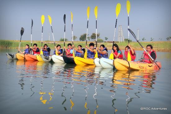 Sri City, India: IROC Kayaking