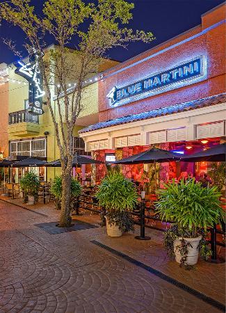 International Plaza and Bay Street : Bar Louie and Blue Martini on Bay Street