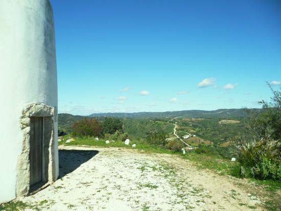 Sao Bras de Alportel, Portugal: belle vue sur les collines
