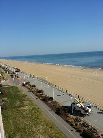 view from 4th floor picture of hampton inn virginia beach rh tripadvisor com
