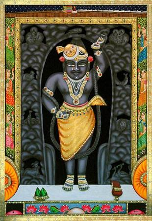 Nathdwara, Índia: Shrinathji