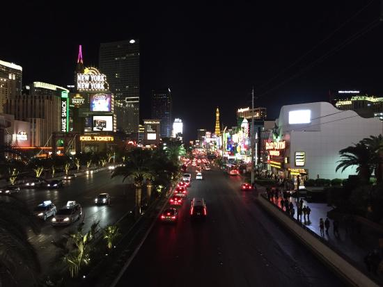 view of strip from skybridge between mgm ny ny picture of mgm rh tripadvisor com