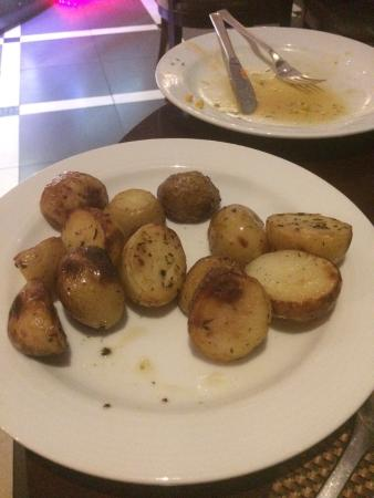 La Terrazza: I was disappointed that there was no potatoes on the menu; however, mentioning it to chef he mad
