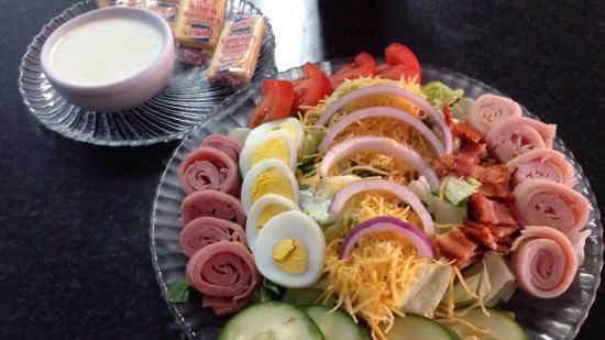Chef Salad Picture Of Fontana S Restaurant Fort Payne