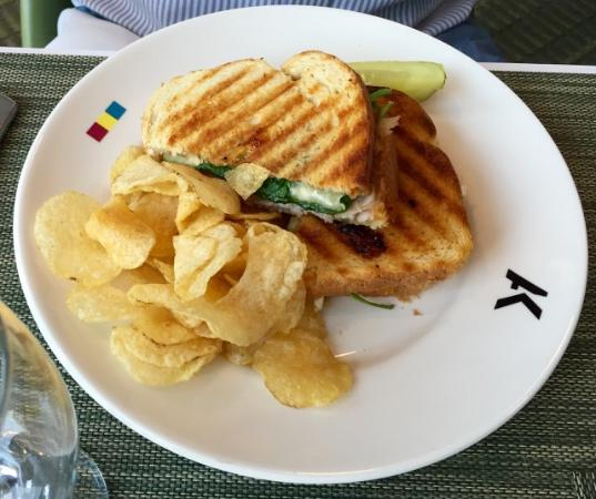 AK Cafe: Turkey Panini
