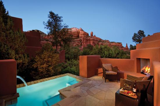 Private Pool Suite At Enchantment Resort In Sedona