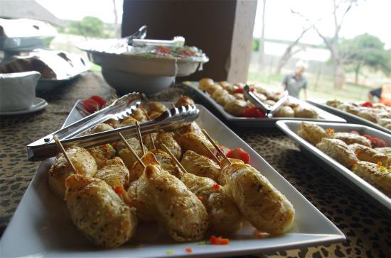 Akwaaba Lodge: food