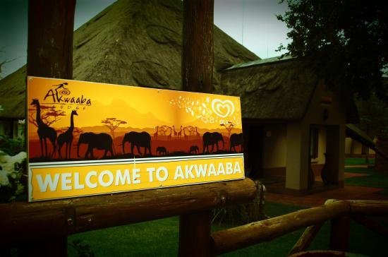Akwaaba Lodge: welcome