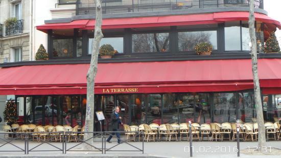La terrasse du 7 me picture of la terrasse du 7eme paris tripadvisor - Restaurant la terrasse paris ...