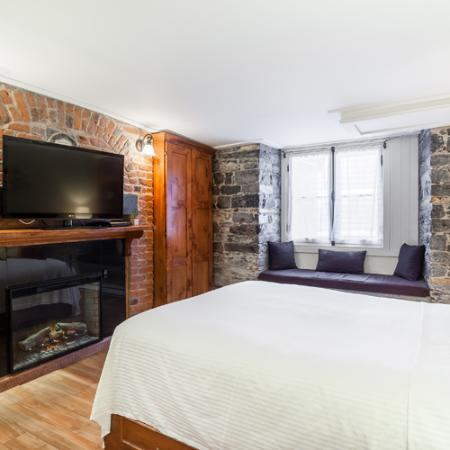 Hotel Louisbourg: Suite Junior | 1 lit & 1 divan | Hôtels Nouvelle-France
