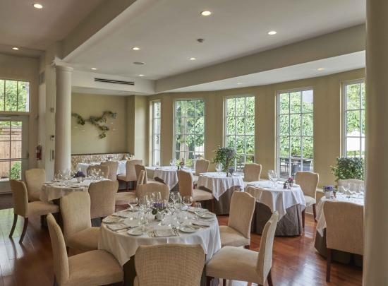dining room with beautiful view picture of langdon hall cambridge rh tripadvisor ca