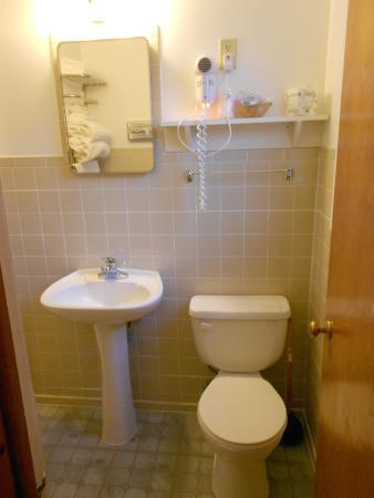Saddle & Surrey Motel: bathroom
