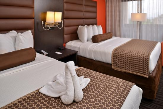 The Capitol Hotel Downtown Nashville: Double Queen Beds