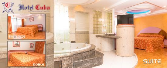 Hotel Cuba: SUITE CON JACUZZI