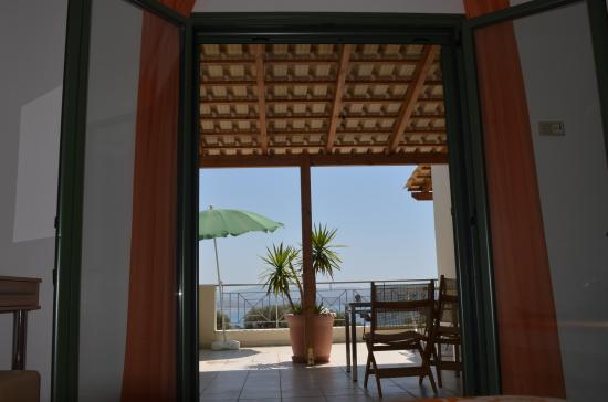 Harakas Studios & Apartments: view from the sleeping room