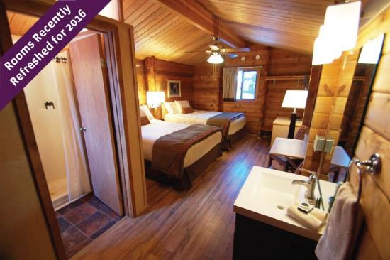 Denali Cabins: Newly remodeled guest cabins for 2016!
