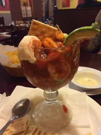 แมดิสันวิลล์, เคนตั๊กกี้: Shrimp cocktail