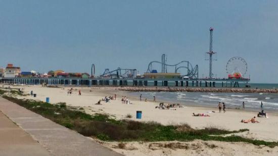Galveston Island Historic Pleasure Pier Picture Of