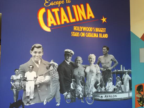 Catalina Island Museum: Hollywood legends love to play on Catalina Island!