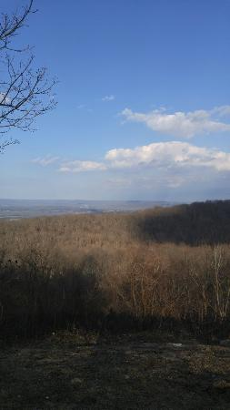 Huntsville, AL: Some pictures from an afternoon walk.  This shows the view from the overlook, walking paths, cam