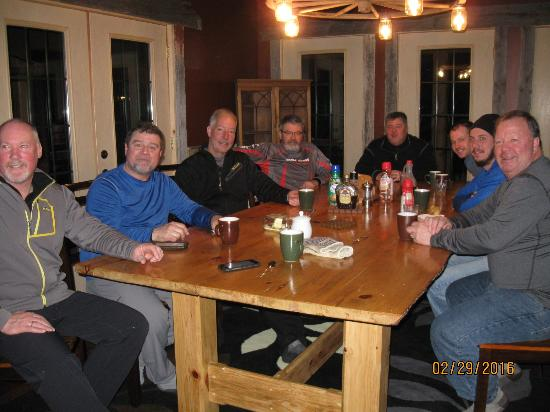 Chapleau, Canada: Our group