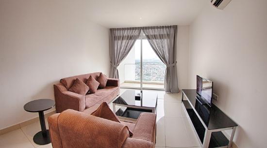 D'esplanade By KSL Resort: Living Area