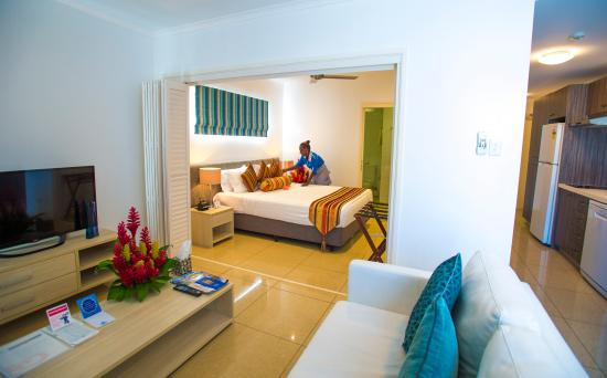 Heritage Park Hotel Honiara : Executive suite