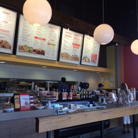 Gentil Zoes Kitchen: Order Counter