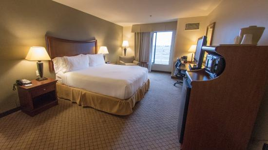 Holiday Inn Express Hotel & Suites Lincoln: King Bed Guest Room