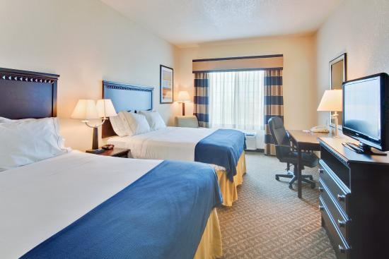 Holiday Inn Express Delano Hwy 99: Double Bed Guest Room