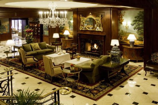 The Townsend Hotel Tea Lobby Set