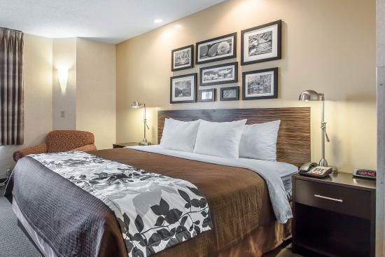 Sleep Inn & Suites, Green Bay Airport: King guest room