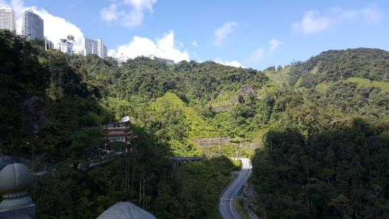 pemandangan gunung yang hijau picture of chin swee cave temple