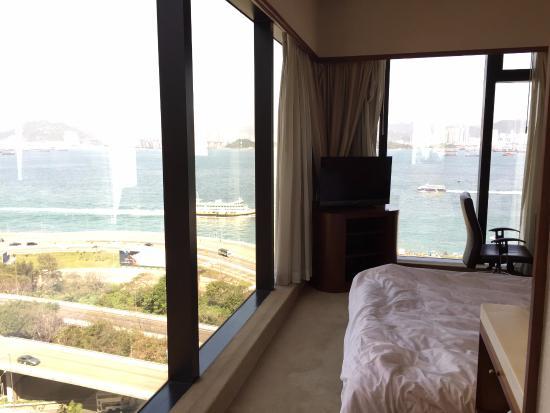 Island Pacific Hotel: 全海景邊間房