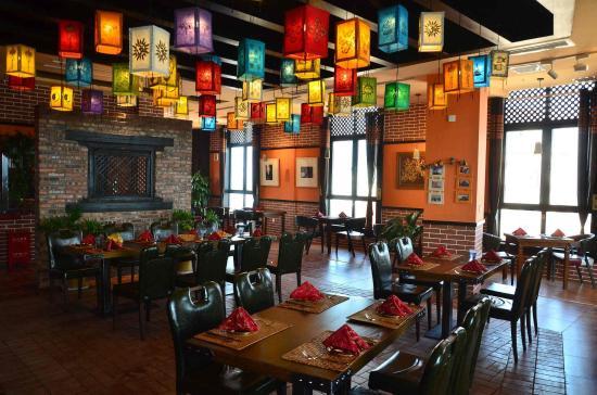Interior decoration picture of ktm nepali cuisine