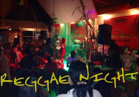 Pacha Bar and Restaurant: Reggae Party