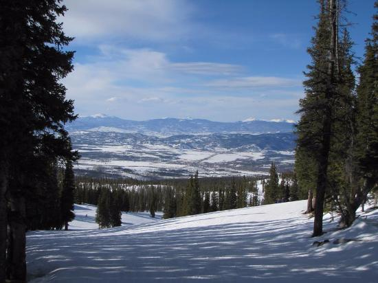 Winter Park Resort: Beautiful view towards the North East