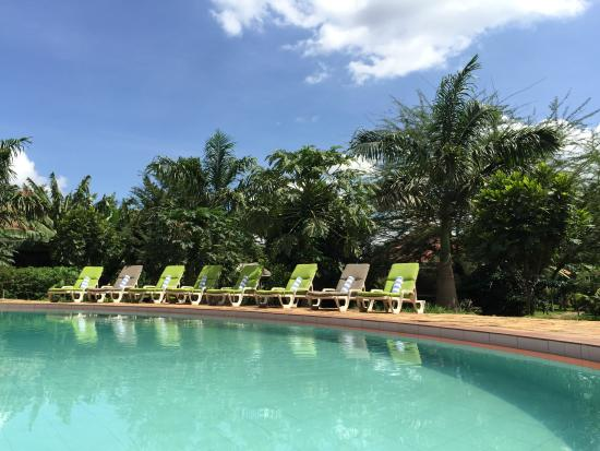 Arusha Planet Lodge: Swimming pool area